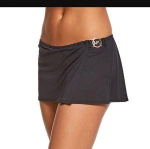 Micheal Kors Black Medium Bikini Bottom & Top